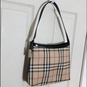 Authentic Burberry Nova Check Bag